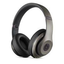 BEATS - Casque Bluetooth à réduction de bruit titane - Studio MHAK2ZM/B