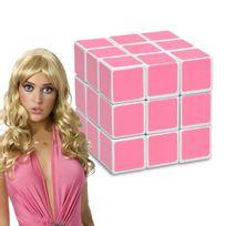 Totalcadeau - Cube magique rose pour blondes magic Casse-tête