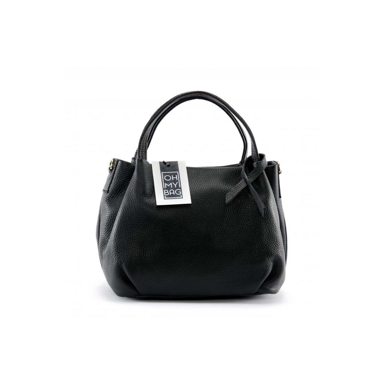 6ba9f10f17 OH MY BAG- Sac à Main femme cuir - Modèle Bubble noir
