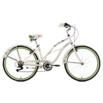 KS CYCLING - Beachcruiser 26'' Bellefleur blanc TC 40 cm