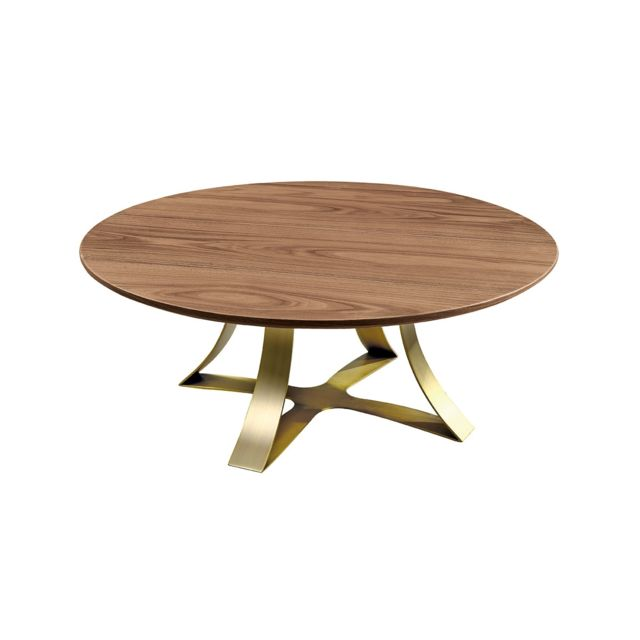 La Maison Du CanapÉ Table basse bois Sand - Noyer - Marron