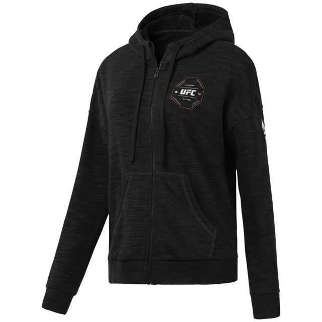 Sweatshirt à capuche zippé femme Ufc Fq