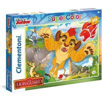 Clementoni - La garde du Roi Lion Puzzle 104 Pieces