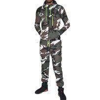 Autre - Vs9 - Ensemble Complet Jogging - Homme - Ensemble Camouflage K171 - Vert Marron Jaune Fluo