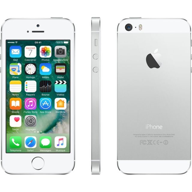 APPLE - iPhone 5S - 32 Go - Argent