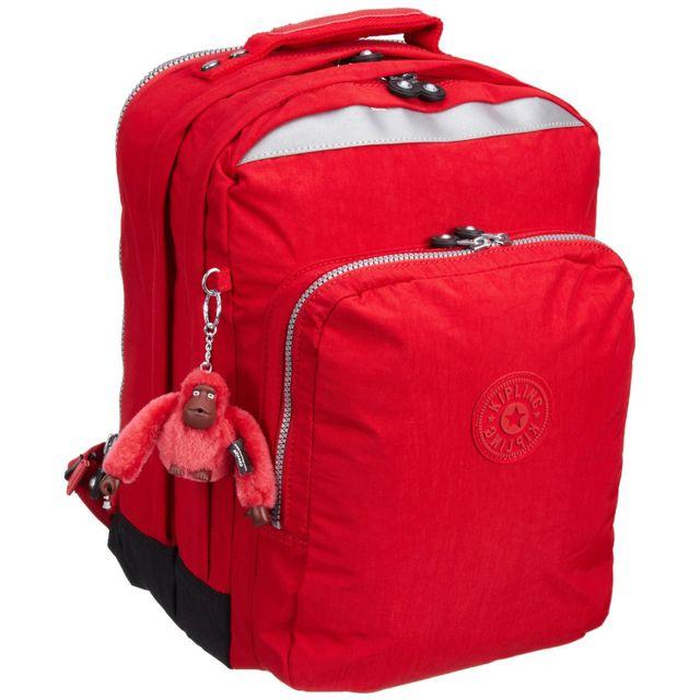 f2371b2538 Kipling - Sac à dos College Rouge 42 Cm - pas cher Achat / Vente Cartables, sacs  à dos maternelle - RueDuCommerce