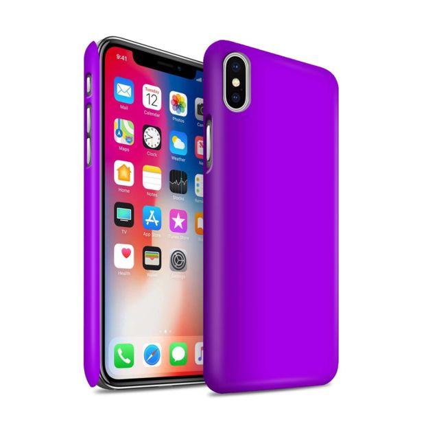 coque iphone x couleur pastel