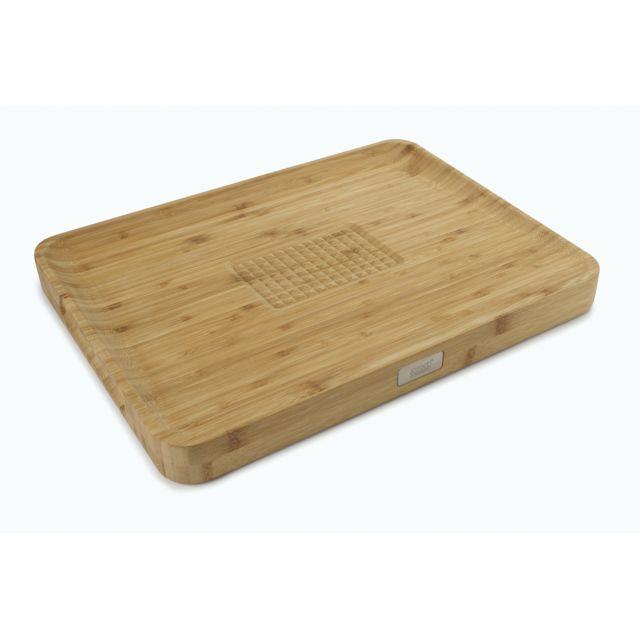JOSEPH JOSEPH Cut & Carve Bamboo - Planche à découper GM