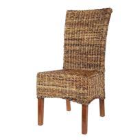 rotin design chaise elips en rotin abaca - Chaise En Rotin