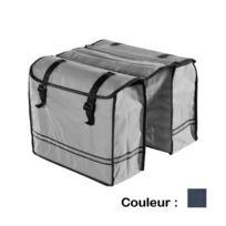 Bicycle - Sacoche vélo - Porte bagage 30L - Bleu marine