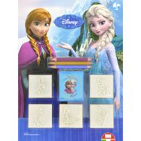 Multiprint - Blister de 5 tampons La Reine des Neiges Frozen