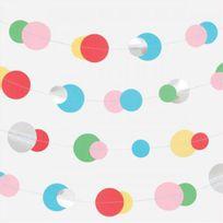 My Little Day - Guirlande Papier et Mylar - Bulles Multicolores