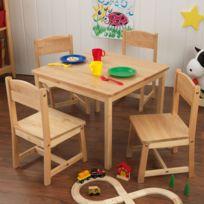 Kidkraft - Table de ferme et ses quatre chaises