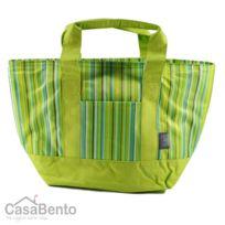 Casabento - Sac Isotherme Stripes Vert