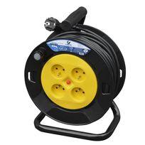 I-watts Pro - Enrouleur 4 Prises 25M - 3G1.5 - Ho5