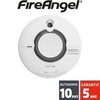 Fireangel - Détecteur de fumée interconnectable sans-fil Wi-Safe 2 Wst-630 - Autonomie 10 ans - Garantie 5 ans
