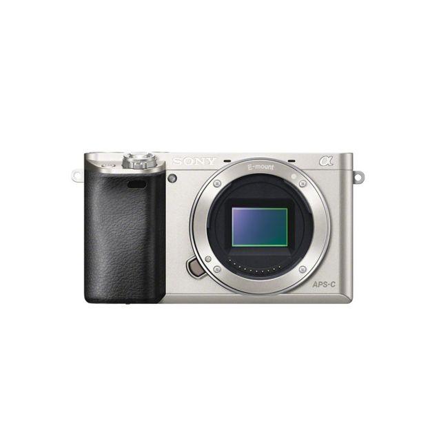 Sony Alpha 6000 Silver Nu Garanti 3 ans