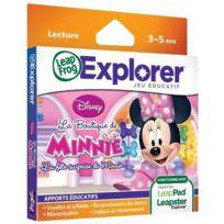 Leapfrog - Jeu leappad / leapster explorer minnie mouse