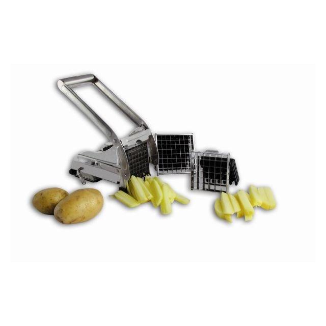 bron coucke coupe frites avec ventouse 2 grilles cfm02 pas cher achat vente mandoline. Black Bedroom Furniture Sets. Home Design Ideas