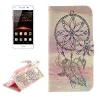 Wewoo - Housse Étui Huawei Y5 2017 Esthétique Windbell Pattern Horizontal Flip en cuir avec Titulaire & Card Slots & Wallet