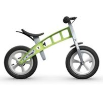 FirstBIKE - Vélo enfant Street vert avec freins