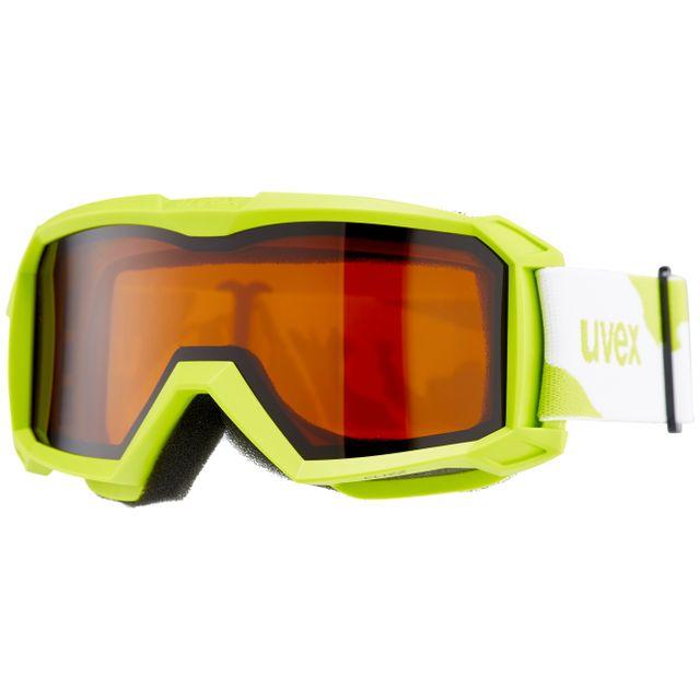 56310fc5643957 Uvex - flizz Lg - Lunettes de protection Enfant - vert - pas cher Achat    Vente Masque snowboard - RueDuCommerce