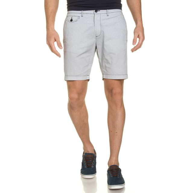 Casual Friday Short Blanc Coupe Chino