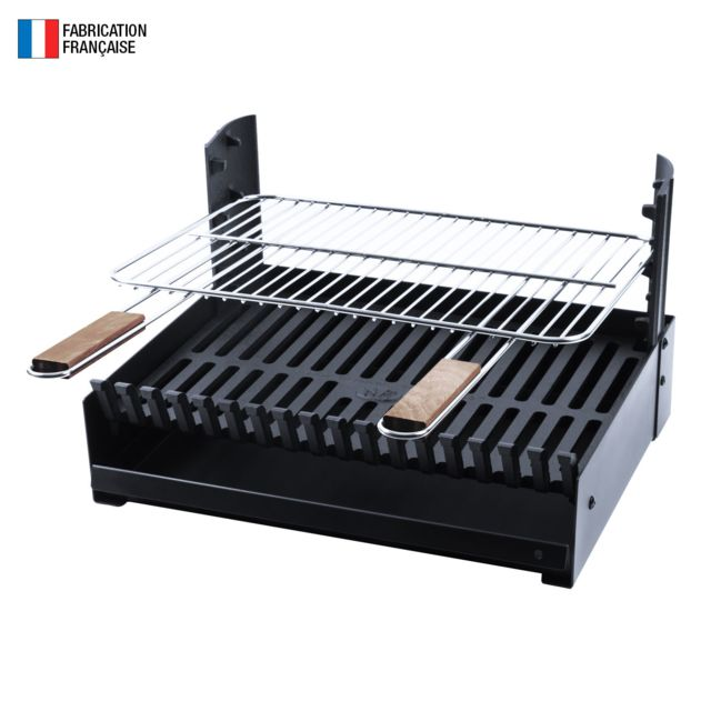 SOMAGIC So Magic - Barbecue au charbon de bois réglable en 3 hauteurs GRILLOIR - grilloir à poser