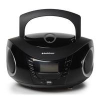 AUDIOSONIC - radio cd usb portable noir - cd1594