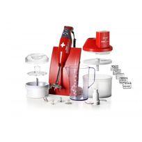 Bamix - Coffret Box couleur Rouge - SwissLine + SliceSy et access