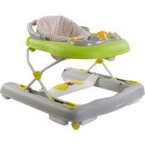 Sun Baby - Trotteur / Pousseur évolutif multifonctions bébé 6-12 mois Lumières et Sons | Vert