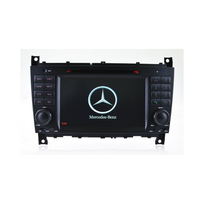Auto-hightech - Autoradio Gps Bluetooth pour Mercedes Benz Classe C W203 & Clc