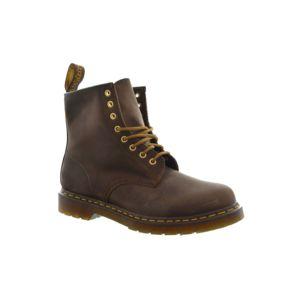 dr martens bottes et bottines dr martens 1460 marron 37 pas cher achat vente boots femme. Black Bedroom Furniture Sets. Home Design Ideas