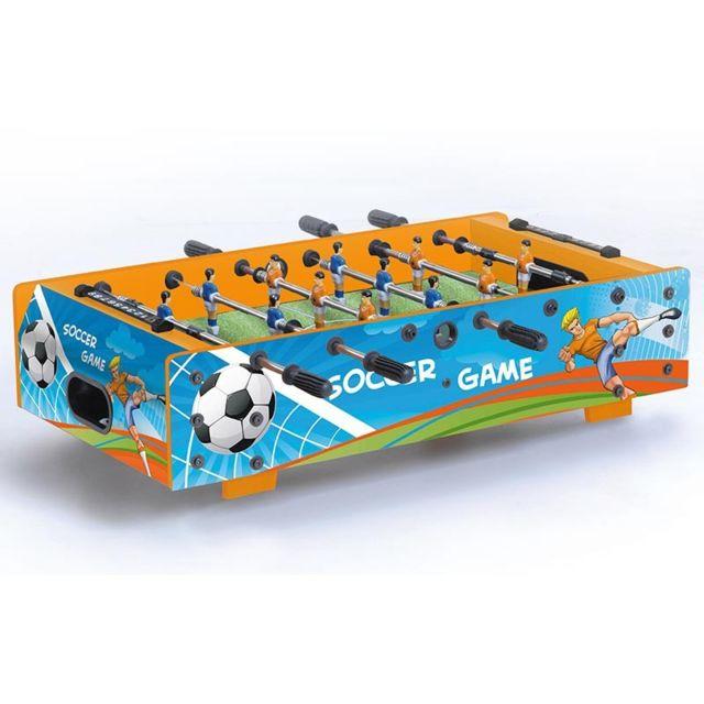 Garlando Baby foot Barres Téléscopiques F-mini Soccer Game