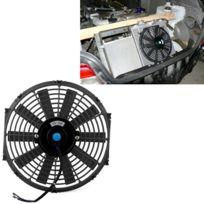 Pour Voiture Noir 12 V 80 W 12 pouce De Ventilateur De Refroidissement Haute Puissance Modifié Réservoir De Puissant Auto Mini Climatiseur