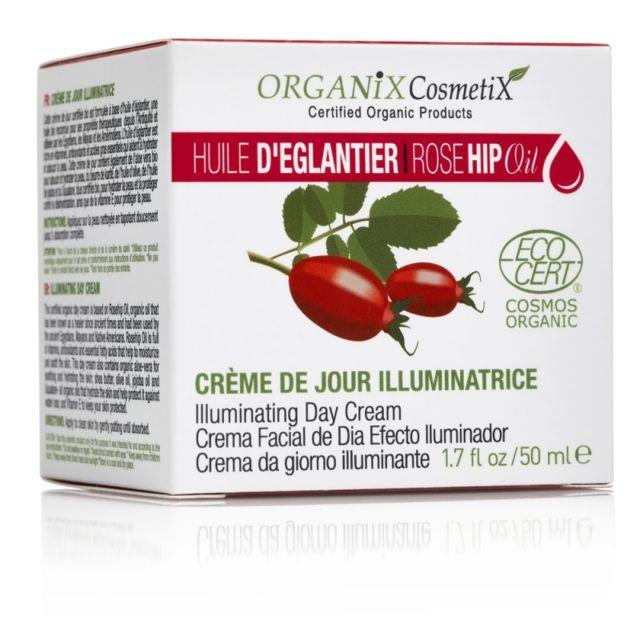Gloss - Crème de jour illuminatrice huile d'églantier Bio Ecocert 50ml