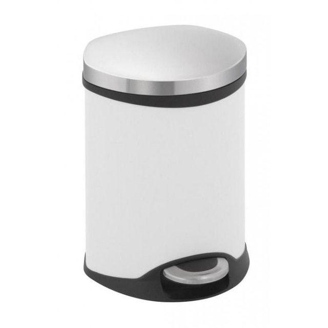 Eko Poubelle Shell Bin 6L Blanc