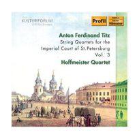 Edition Profil - Quatuors A Cordes Pour La Cour Imperial De Saint-Petersbourg /Vol.3