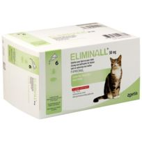 Zoetis - Pack 5 X Eliminall Chats 50 Mg 6 Pipetes