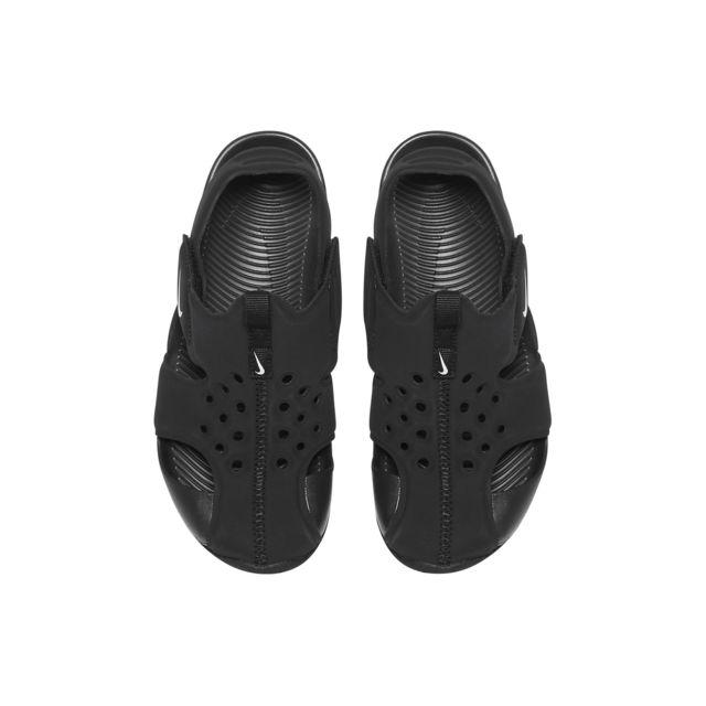 Nike Sunray Protect 2 Noir pas cher Sandales Achat   Vente Sandales cher et bef77c