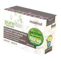 Mastrad - Boîte De 10 Cartouches Co2 Pure Fizz