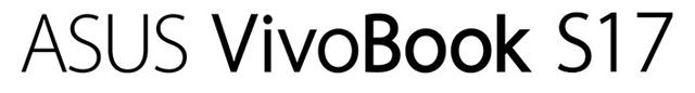 ASUS VIVOBOOK S17