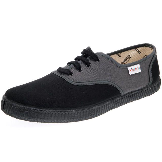 Victoria - Chaussures basses toile Inglesa anth/noirvictoria Gris 43262