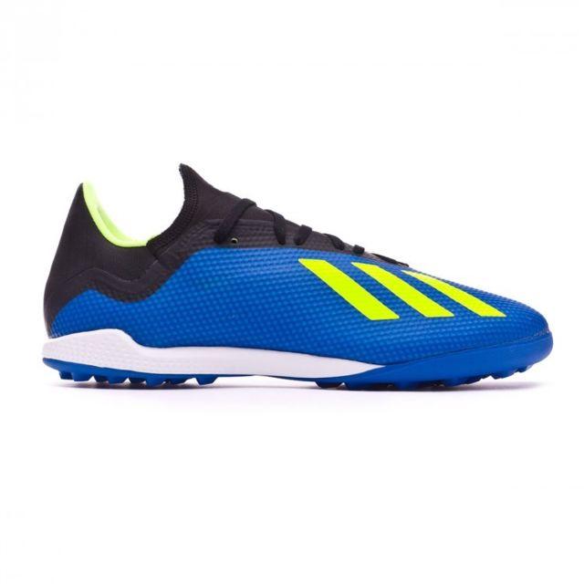 Adidas X Tango 18.3 Turf Foot blue Solar yellow Black 42