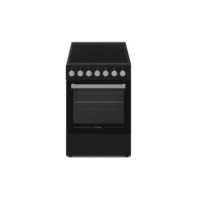 Candy Ccvm513nb/e - Cuisiniere Vitroceramique - 4 Foyers - Four Electrique - 43l - A - Noir