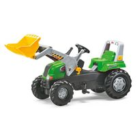 Rolly Toys - 811465 RollyJunior Rt, tracteur à pédales vert