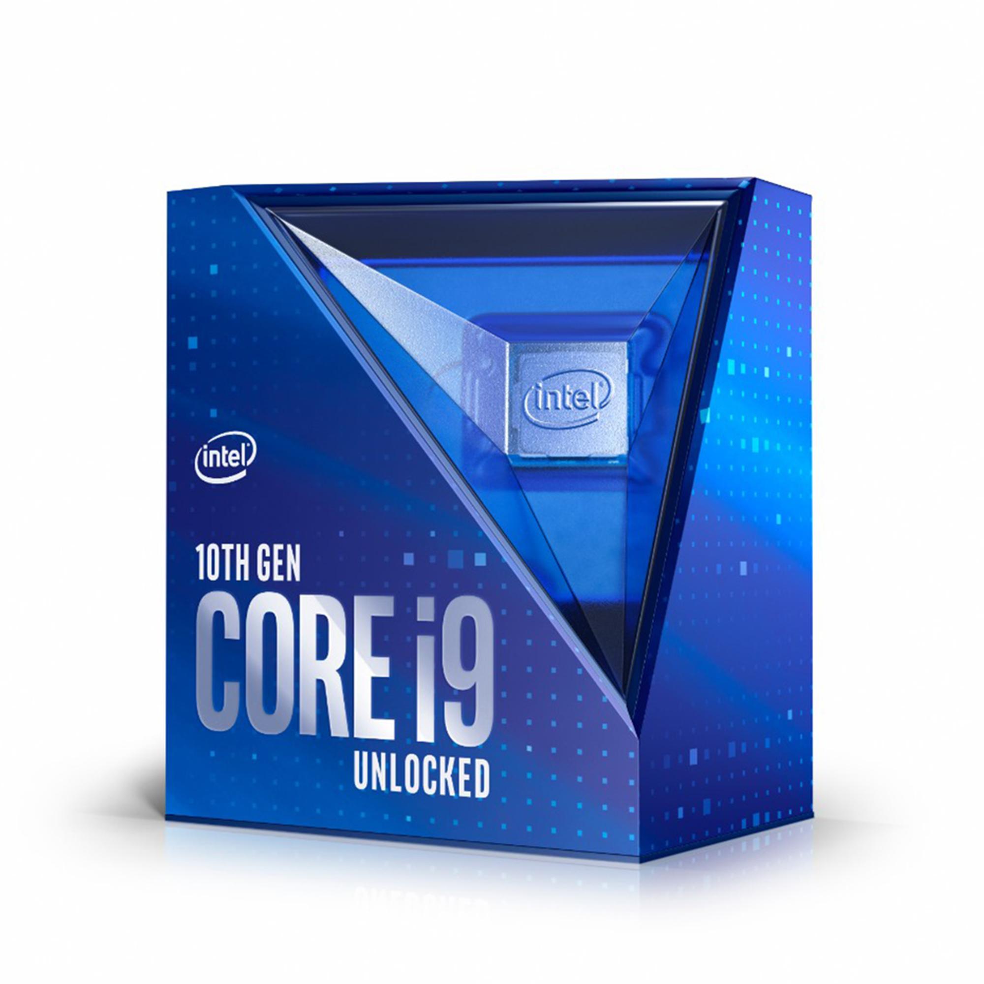 Core i9-10900K - 3.7/5.3 GHz