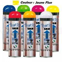 SOPPEC - Traceur de chantier Fluorescent Temporaire 2-8 Sem, Jaune Fluo - 141617