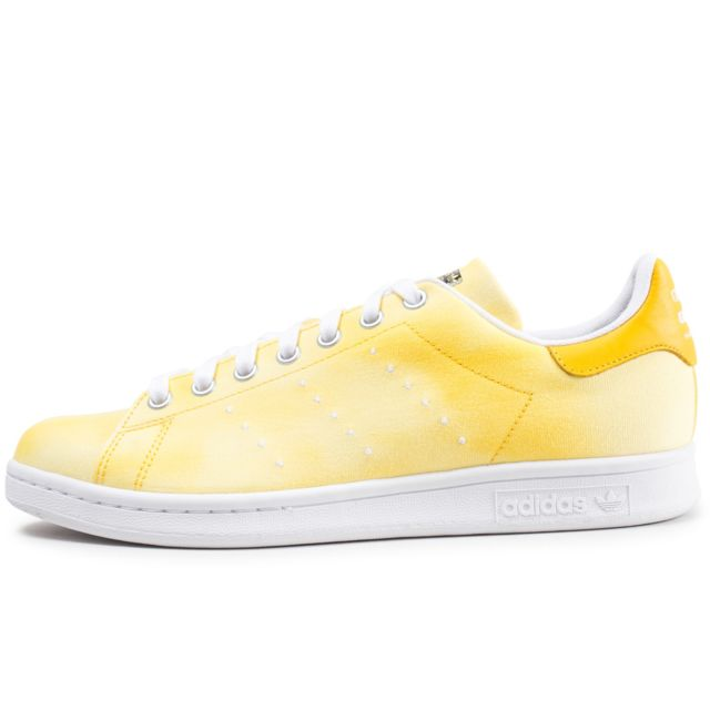 adidas Originals BASKET PW HU HOLI Stan Smith JAUNE - Chaussures Baskets basses Homme