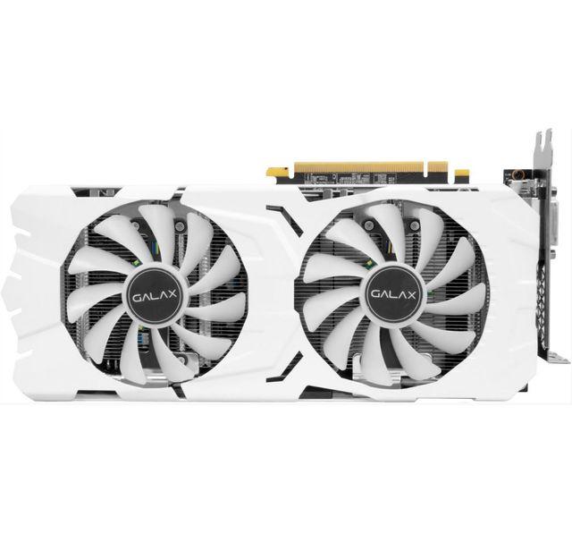 KFA2 GeForce GTX 1080 EXOC-SNIPER WHITE Carte graphique PCI-Express overclockée - Refroidissement semi-passif (mode 0 dB) - Avec backplate - Compatible VR
